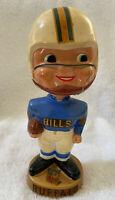 VINTAGE 1960s AFL NFL BUFFALO BILLS BOBBLEHEAD NODDER BOBBLE HEAD