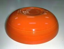 "Vintage Fiesta Fiestaware Radioactive Red Orange 7.5"" Bowl"