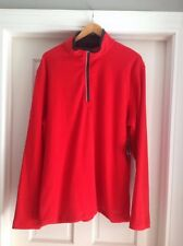Men's FILA Red Fleece Pullover  - Size XXL - NEW WITH TAGS!!