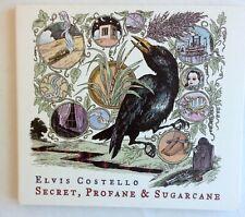 Elvis Costello Secret Profane & Sugarcane [Digipak] CD 2009 T Bone Burnett Promo
