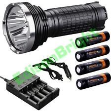 Fenix TK75 2015 CREE LED 4000 lumen flashlight/searchlight w/ 4X 18650 batteries
