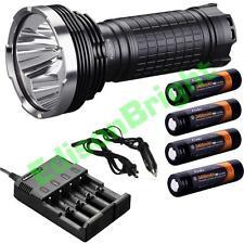 Fenix TK75 2015 CREE LED 4000 lumen flashlight/searchlight w/ 4X 18650 batteries