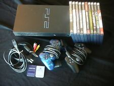 Sony Playstation 2 Console SCPH-30001 10 Games, 2 Controllers, 2 Memory Cards