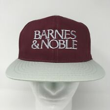 Barnes & Noble - Vintage Snapback Maroon Red Embroidered Hat - University Square