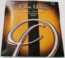 """Cordes """"Dean Markley 2502l"""" 009 - 042 Light pour E-guitare"""