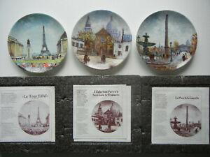Limoges : Louis Dali : Sacre Coeur, Cheminée Concorde, Tour Eiffel -