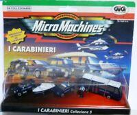 MICRO MACHINES HASBRO GIG GALOOB 1997 CARABINIERI COLLEZIONE 5 (come da foto)