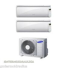 Condizionatore Dual Split Samsung Maldives 12+12 12000+12000 Btu AJ050FCJ2EH