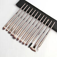 12PCS/Set Eyeshadow/Concealer/Eyeliner/Blending/Eyebrow Eye Lip Make Up Brushes