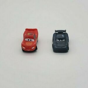Lot of 2 Cars 3 Surprise Collectibles Lightning McQueen Jackson Storm Thinkway