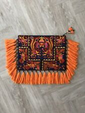 Boho Tribal Embroidered Oversized Clutch Bag
