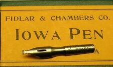 Lots of 10 FIDLAR & CHAMBERS Vintage Dip Pen Nibs