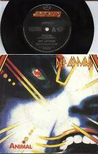 "DEF LEPPARD   Rare 1987 Aust Only 7"" OOP Mercury Label Rock P/C Single ""Animal"""