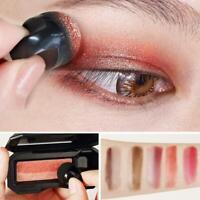 Zweifarbige Lazy Eyeshadow Makeup Palette Pigment Wasserdichter Lidschatten