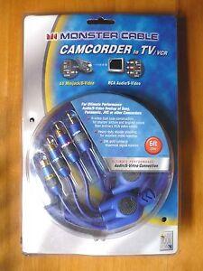 Monster Cable - S-Video / RCA Audio to S-Video / 3.5mm AV MiniJack  - 6ft / 2mtr