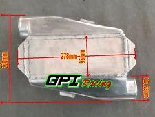 Universal Aluminium Air Water Liquid Intercooler Chargecooler 180° Inlet Outlet