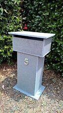 Blue Stone Tough Letterbox 810mm H, 2 key Lock