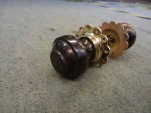 Reclaimed Vintage Pair Of Victorian Door Knobs     (mhw87)