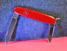 """VICTORINOX""  VTG   SECRETARY  RED  SWISS  FOLDING    POCKET   KNIFE   c. 1981's"
