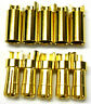 C0552 RC Connector 5.5mm Gold Plated Male and Female Bullet Banana x 5 Set