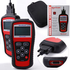+ OBD2 MaxiScan MS509 Profi Diagnose Gerät CAN in deutsch für Fiat MOTOR +