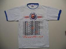 vtg 90s University Of Florida Gators Blue Inner Sleeve & Collar t shirt sz L