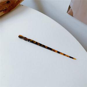 Hair Stick Resin Chopstick Girl Hairpins Hair Clip Pins Hair Accessories Jewe WM