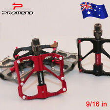 AU Promend 9/16in 3 Bearings Aluminum alloy MTB Bike Pedal Ultralight 1Pair