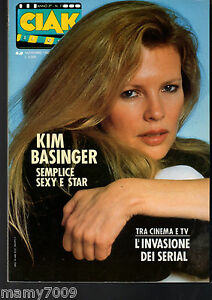 RIVISTA=CIAK=N°11 NOVEMBRE 1987=KIM BASINGER COVER