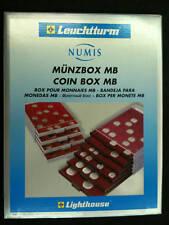 BOX CASSETTO PLEXIGLASS tipo MB per 35 MONETE da 29 mm in capsula LEUCHTTURM