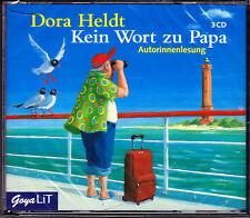 Heldt, Kein Wort zu Papa HÖRBUCH 3 CDs Autorinnenlesung