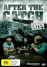 Deadliest Catch - After The Catch : Season 3 (DVD, 2010) New Sealed Region 4