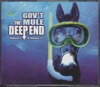GOV'T MULE - the deep end vol 1-2 set 3 CDs