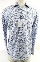 Robert Graham Benson Mines NWT $228 Men's Long Sleeve Dress Shirt Size S White