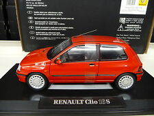 Norev 1:18 Renault Clio 16s rot NOREV 1:18 NEU NEW