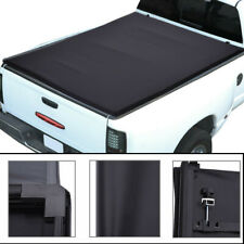 Soft Tri-Folding Tonneau Cover For 2009-2019 Dodge Ram 1500 Fleetside 5.7ft Bed
