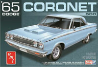 AMT 1965 Dodge Coronet Snap together 1:25 scale model car kit new 1176