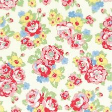 "Lecien 100% cotton fabric Patchwork Craft FQ/Metre 1930's Retro ""Smile"" Floral"