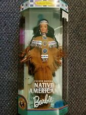 NEW 1997 Native American Barbie 4th Edition Collector Edition Dolls of the World