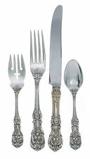 Francis I Sterling Silver 4 Piece Dinner Size Setting with French Blade