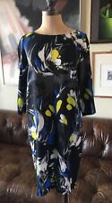 Fuzzi Floral Shift Dress, Made In Italy