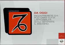 cartolina pubblicitaria PROMOCARD n.4037 NISSAN AUTOMOBILE MILANO