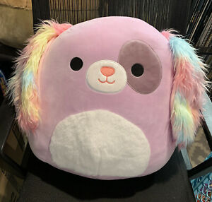 """Barb The Dog Squishmallow 16"""" Puppy Dog Target Squishmallows Barb"""