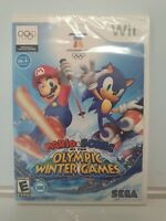 Mario & Sonic at the Olympic Winter Games (Wii, 2009) - FACTORY SEALED B1