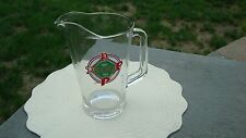 1983 Glass Pitcher Phillies 100 Years (1883-1983).by Roy Rogers Restaurant