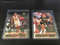 1994 Classic Grant Hill Duke and Jason Kidd California Exhibitor Cards Mint RARE