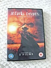 Jeepers Creepers DVD Collection - 3 Films (2017 Release) Region 2 UK
