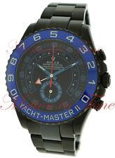 Rolex Yacht-Master II Regatta Chronograph Black DLC Stealth PVD 44mm 116680