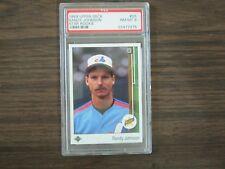 1989 Upper Deck # 25 Randy Johnson Graded Card PSA 8 NM-MT Montreal Expos