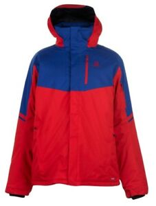 Salomon Men's Ski Jacket Rise Red Blue all Sizes New with Label